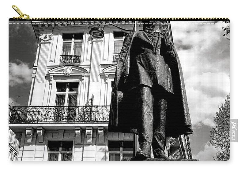 Paris Carry-all Pouch featuring the photograph Baron Hausmann by Olivier Le Queinec