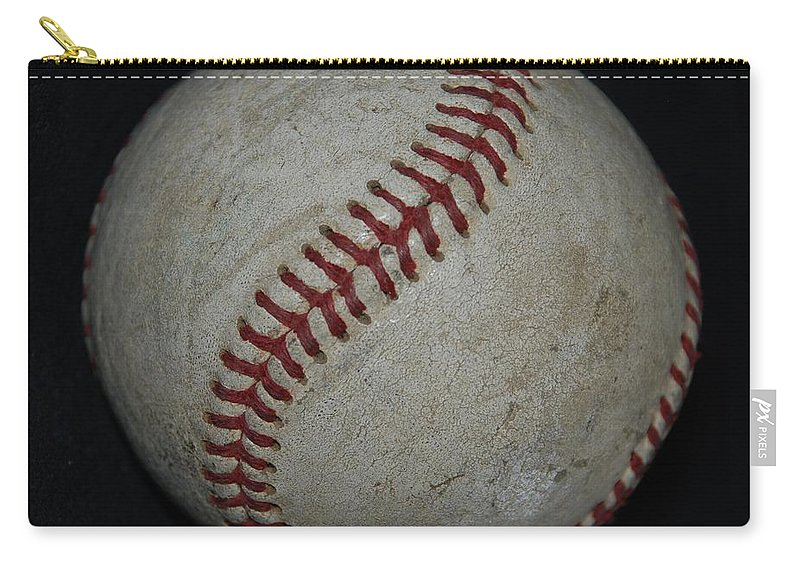 Pop Art Carry-all Pouch featuring the photograph Baseball by Rob Hans