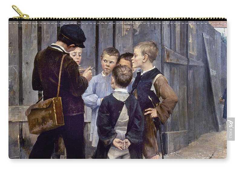 19th Century Carry-all Pouch featuring the photograph Bashkirtsev: Meeting, 1884 by Granger