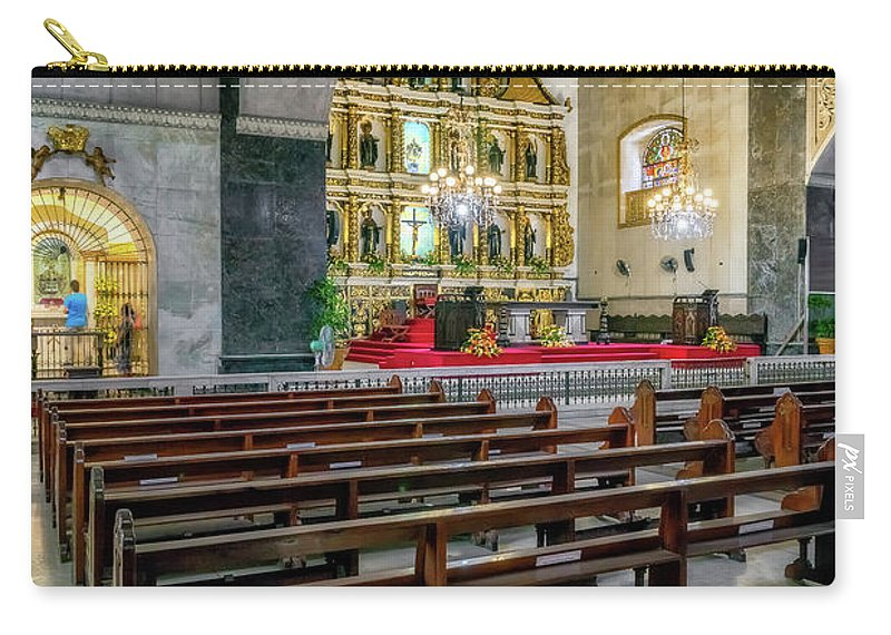 Catholic Carry-all Pouch featuring the photograph Basilica Minore Del Santo Nino by Adrian Evans