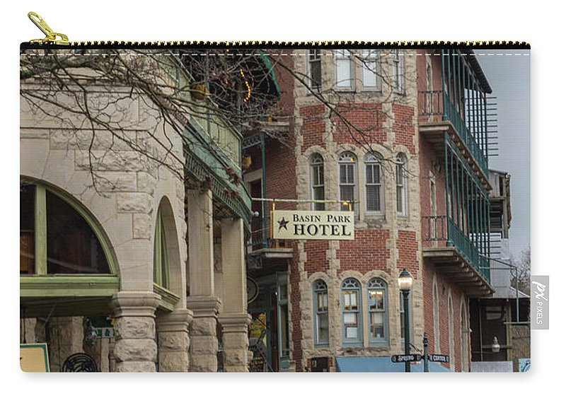 America Carry-all Pouch featuring the photograph Basin Park And Flatiron Flats by Jennifer White