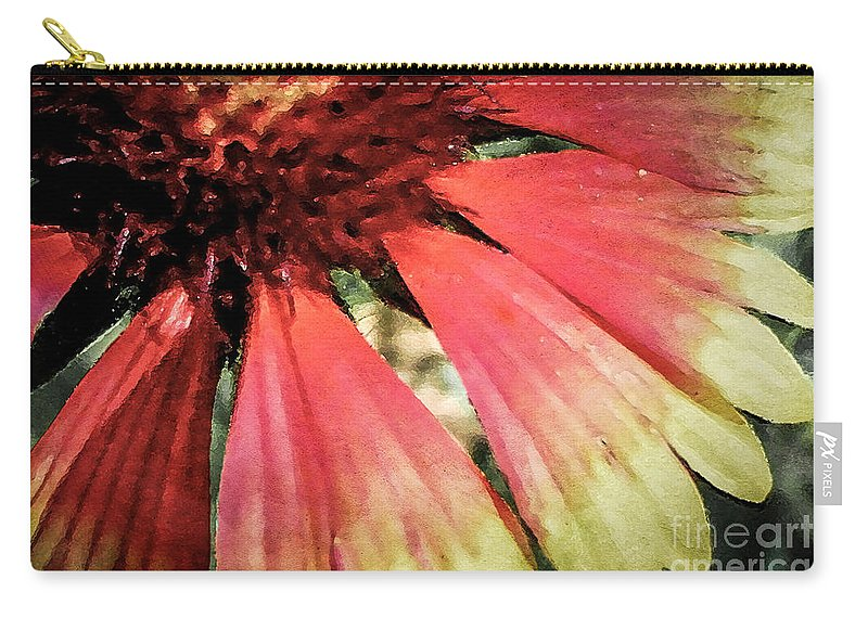 Flora Carry-all Pouch featuring the photograph Basking In The Sun by Todd A Blanchard