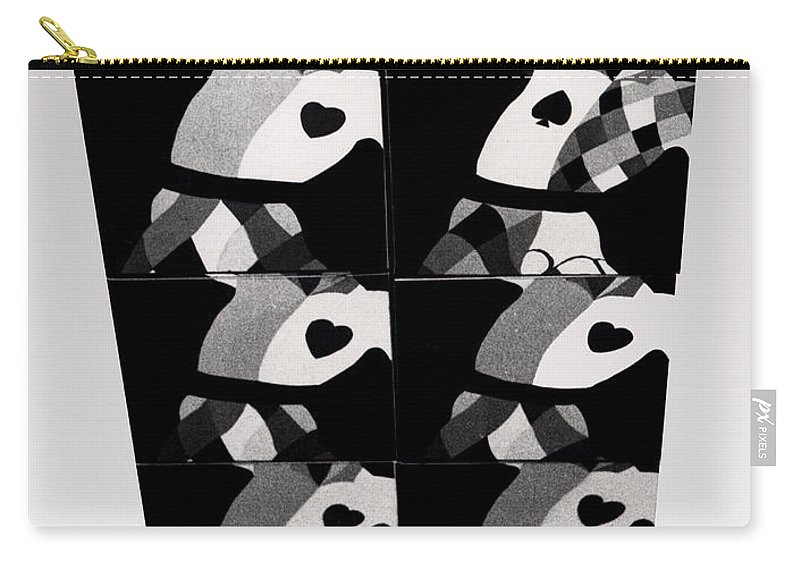 Dance Carry-all Pouch featuring the photograph Bauhaus Ballet Six by Charles Stuart
