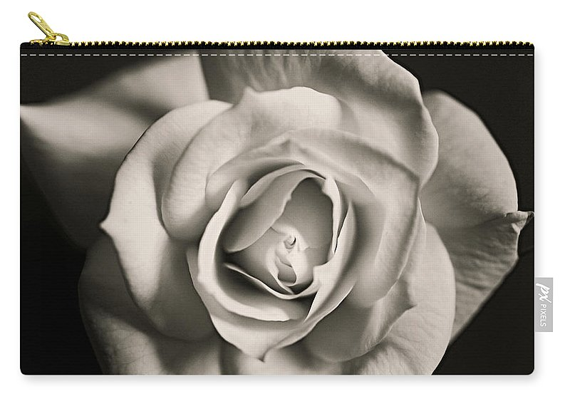 Rose Carry-all Pouch featuring the photograph Be Mine II by Prairie Pics Photography