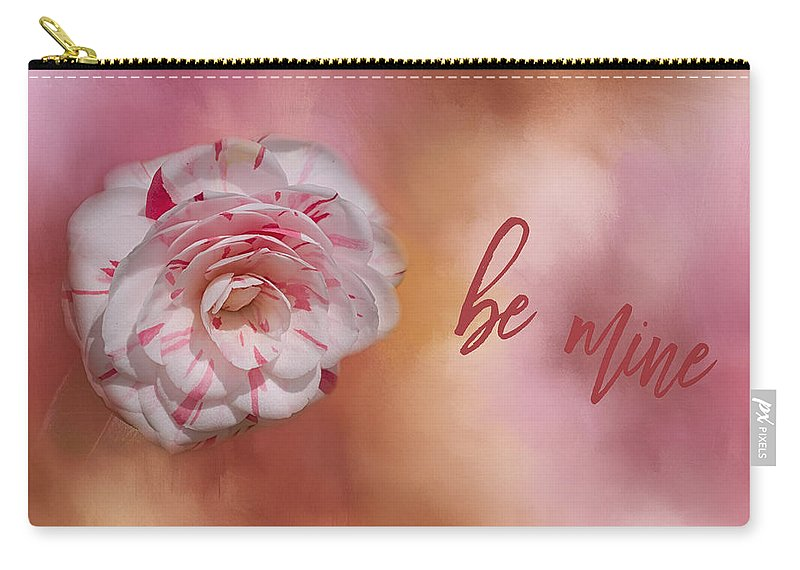 Flower Carry-all Pouch featuring the photograph Will You Be Mine by Kim Hojnacki