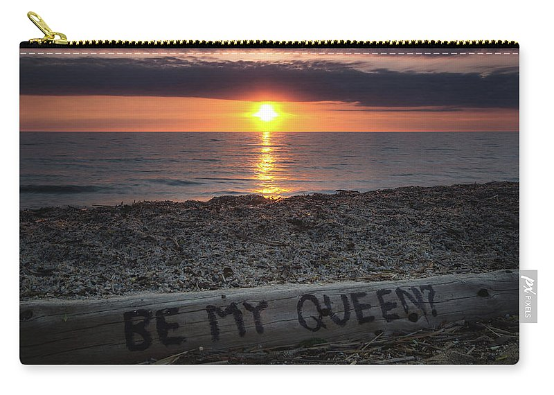Sunrise Carry-all Pouch featuring the photograph Be My Queen by Cale Best