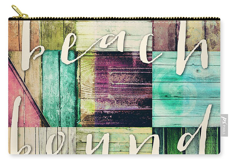 Beach Carry-all Pouch featuring the painting Beach Bound by Mindy Sommers