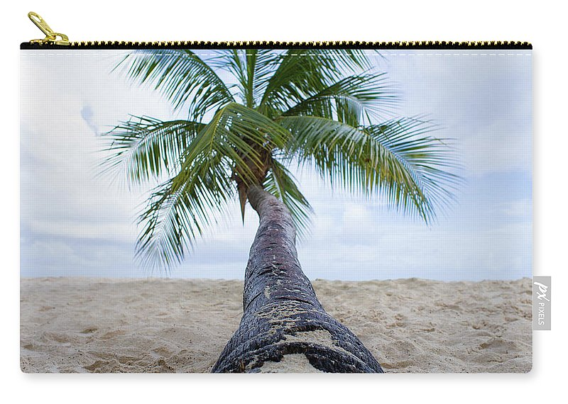 Barbados Carry-all Pouch featuring the photograph Beach Coco by Ferry Zievinger