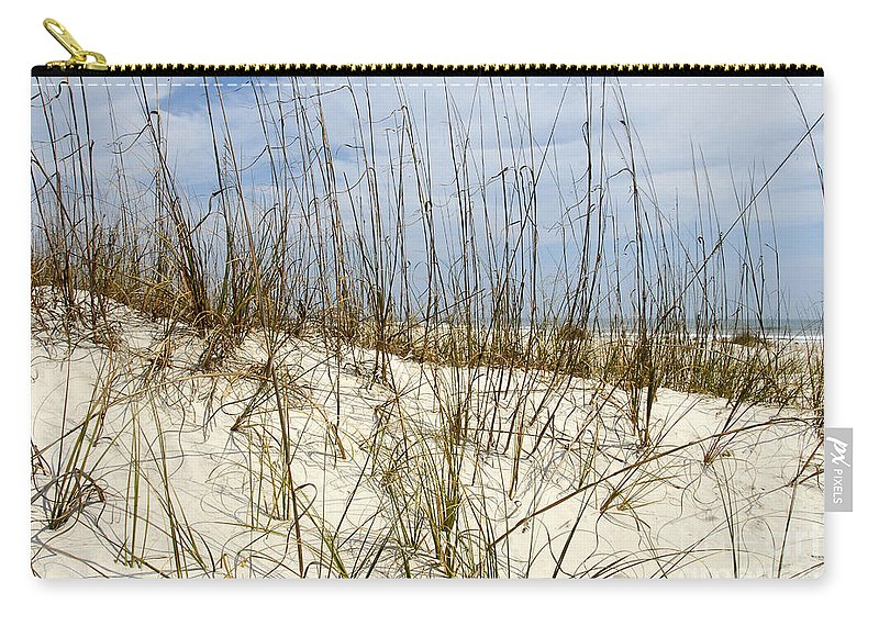 Beach Carry-all Pouch featuring the photograph Beach Dunes by David Lee Thompson