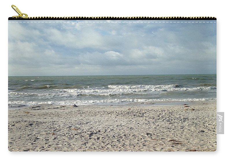 Landscape Carry-all Pouch featuring the photograph Beach Paradise by Darren Rudd