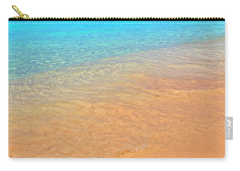 Isle Carry-all Pouch featuring the photograph Beachside by Scott Mahon