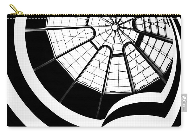 Guggenheim Museum Carry-all Pouch featuring the photograph Beam Me Up by Az Jackson