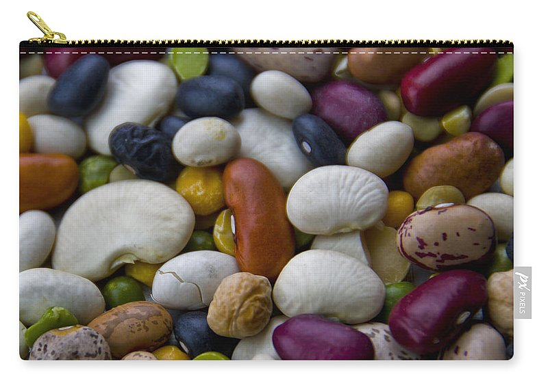 Usa Carry-all Pouch featuring the photograph Beans Of Many Colors by LeeAnn McLaneGoetz McLaneGoetzStudioLLCcom