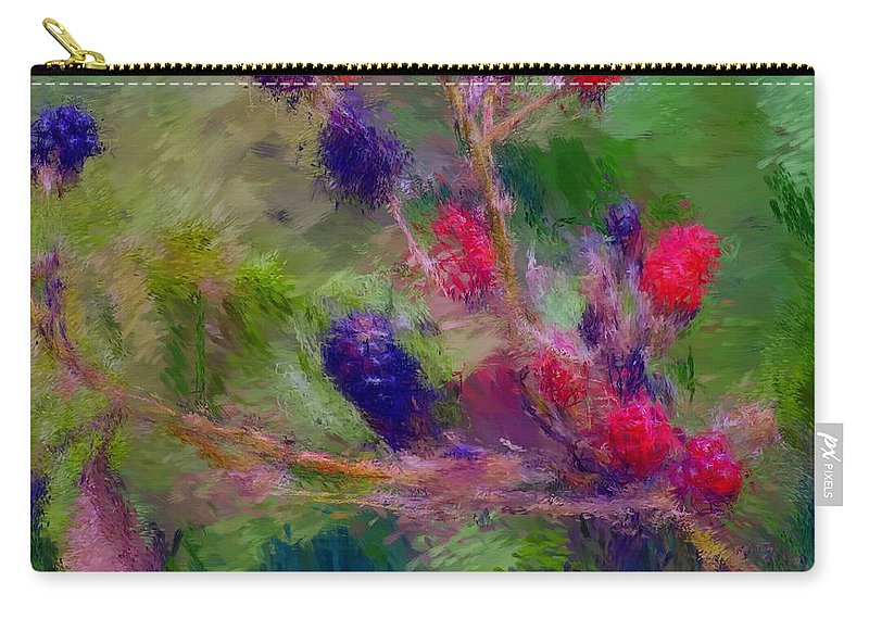 Nature Carry-all Pouch featuring the photograph Bear Fodder by David Lane