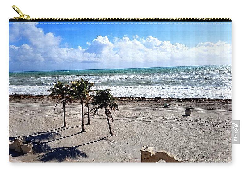 Flordia Carry-all Pouch featuring the photograph Beautiful Atlantic by Adam Schneider