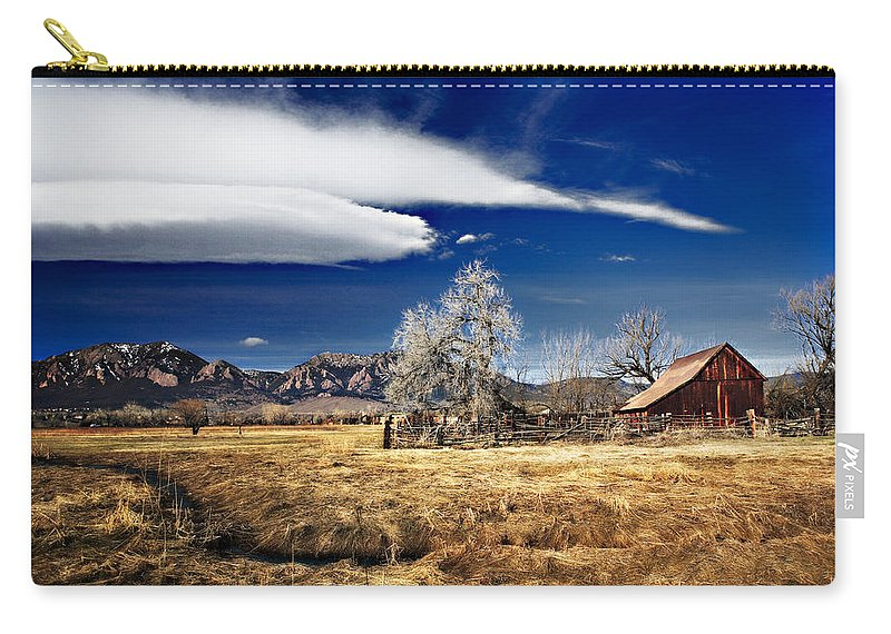 Colorado Carry-all Pouch featuring the photograph Beautiful Colorado by Marilyn Hunt