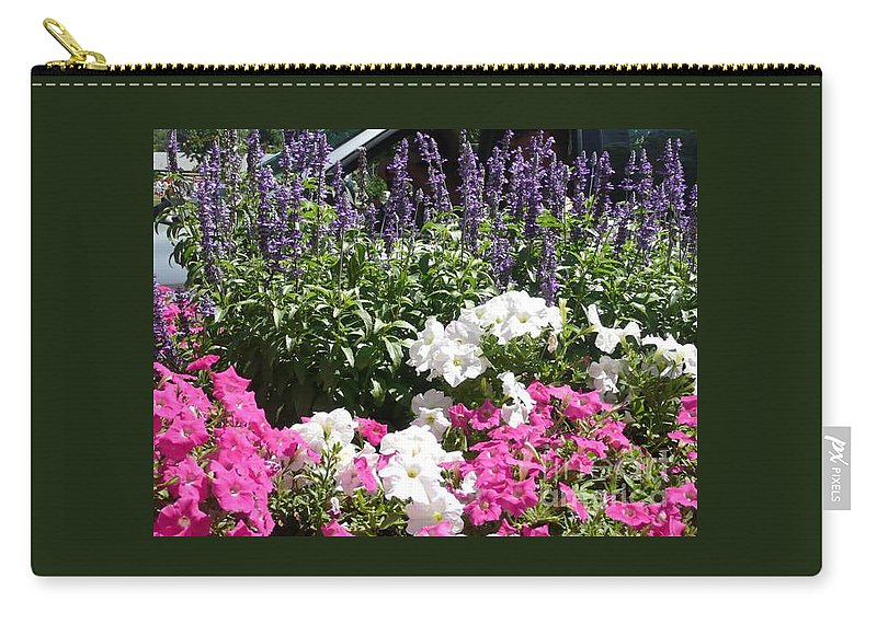 Flowers Carry-all Pouch featuring the photograph Beautiful Flowers by Barb Montanye Meseroll