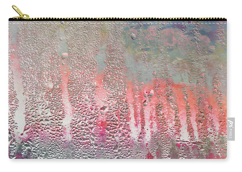 Window Pane Carry-all Pouch featuring the photograph Beautiful Rainy Day by Hal Halli