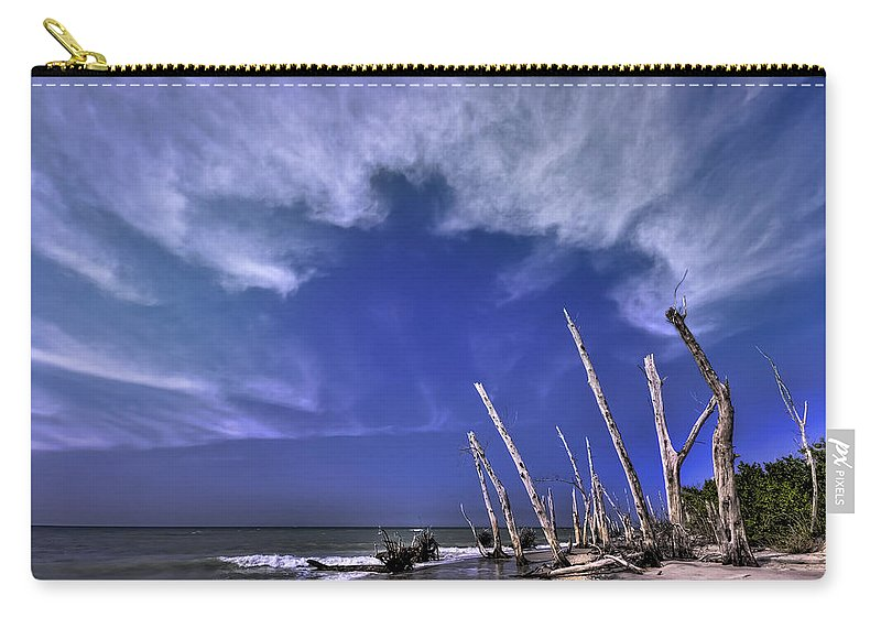 Stump Carry-all Pouch featuring the photograph Beautiful Regret by Evelina Kremsdorf