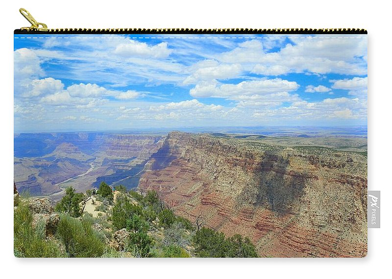 Grand Canyon Carry-all Pouch featuring the photograph Beautiful View by Loring Laven