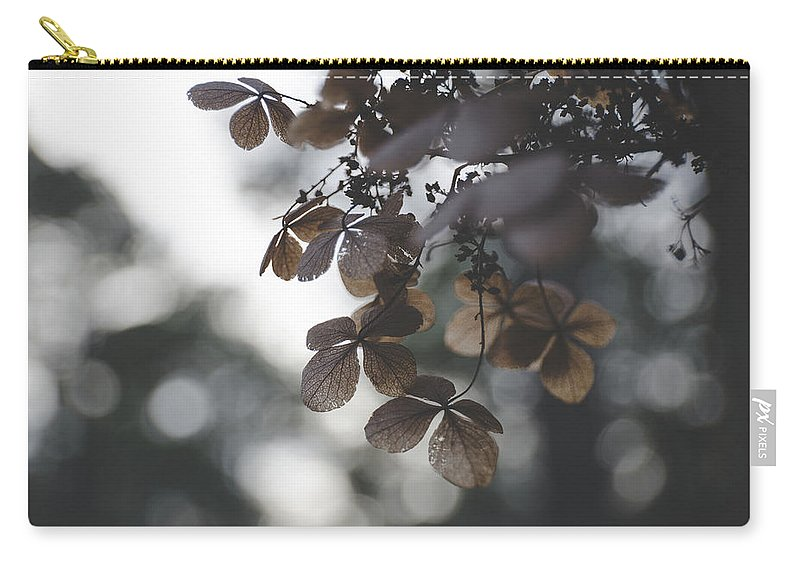 Flowers Carry-all Pouch featuring the photograph Beauty In Death by Sarah Jackson