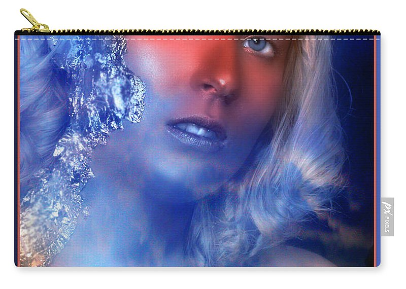 Clay Carry-all Pouch featuring the photograph Beauty In The Clouds by Clayton Bruster