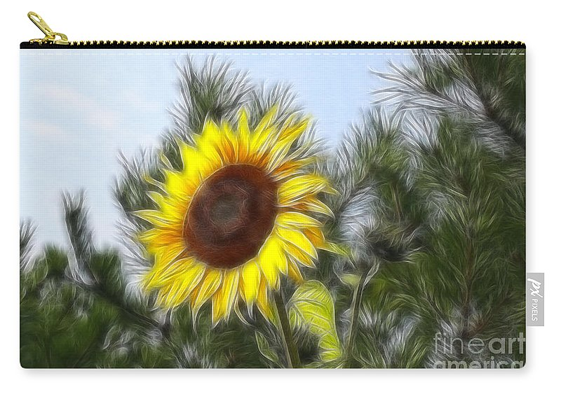 Fratalius Carry-all Pouch featuring the photograph Beauty In The Pines by Deborah Benoit