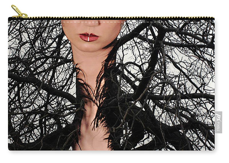 Composite Carry-all Pouch featuring the photograph Beauty Of Nature by Clayton Bruster