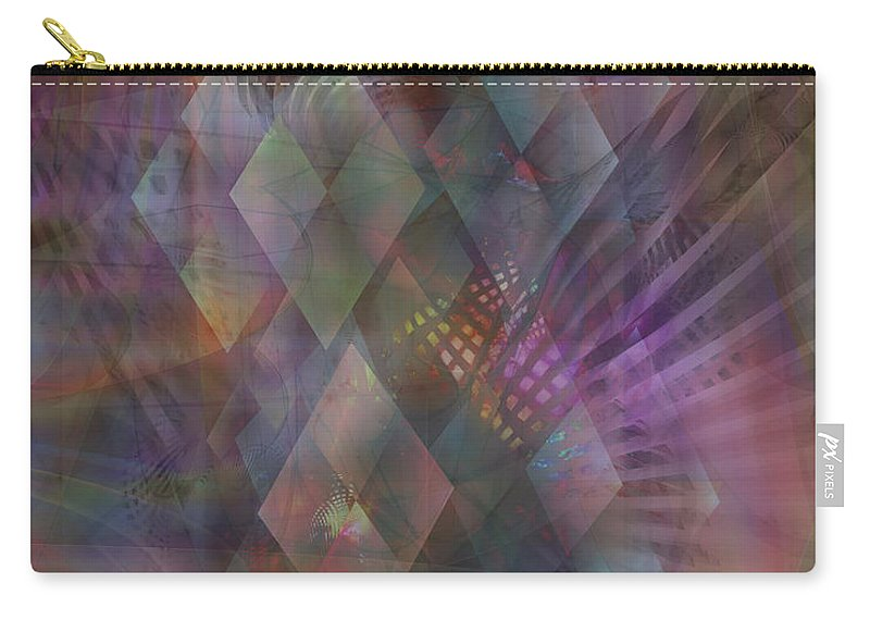 Bedazzled Carry-all Pouch featuring the digital art Bedazzled by John Beck