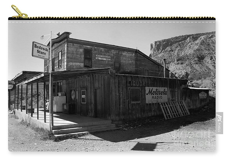 Bedrock Colorado Carry-all Pouch featuring the photograph Bedrock Store 1881 by David Lee Thompson