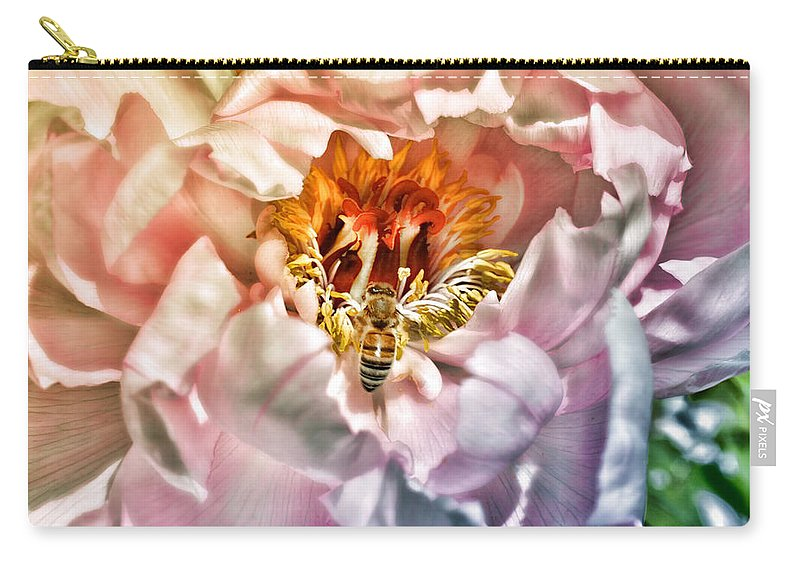 Nature Carry-all Pouch featuring the photograph Beekeeper by Mike Smale