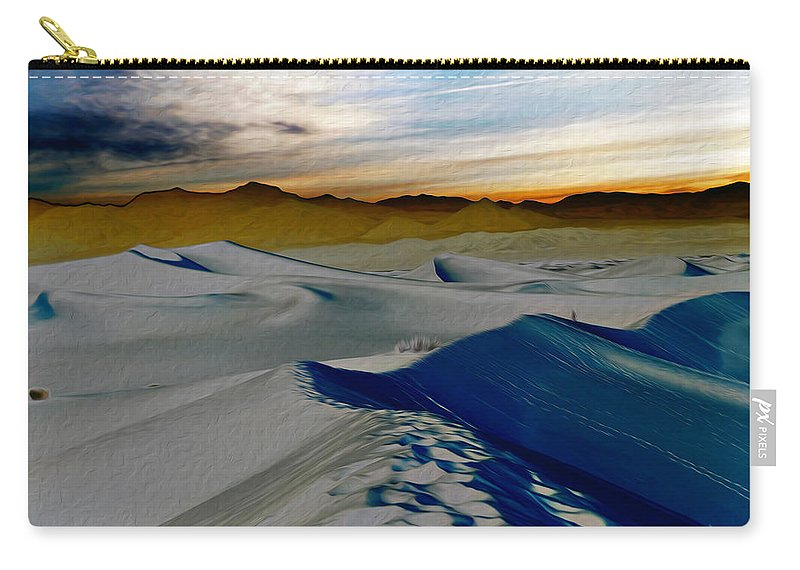 Death Valley Carry-all Pouch featuring the photograph Been Through The Desert by Joe Schofield