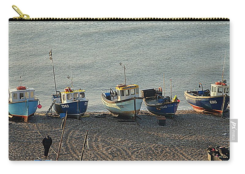 Beer Carry-all Pouch featuring the photograph Beer - East Devon. Uk by Andy Thompson