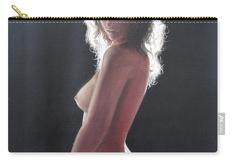 Ignatenko Carry-all Pouch featuring the painting Before by Sergey Ignatenko