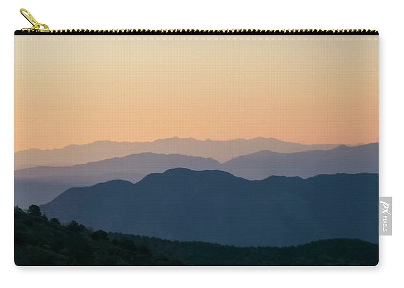 Sunrise Carry-all Pouch featuring the photograph Before Sun-up by Albert Seger