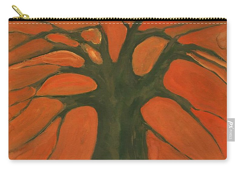 Colour Carry-all Pouch featuring the painting Beginning Of Life by Wojtek Kowalski