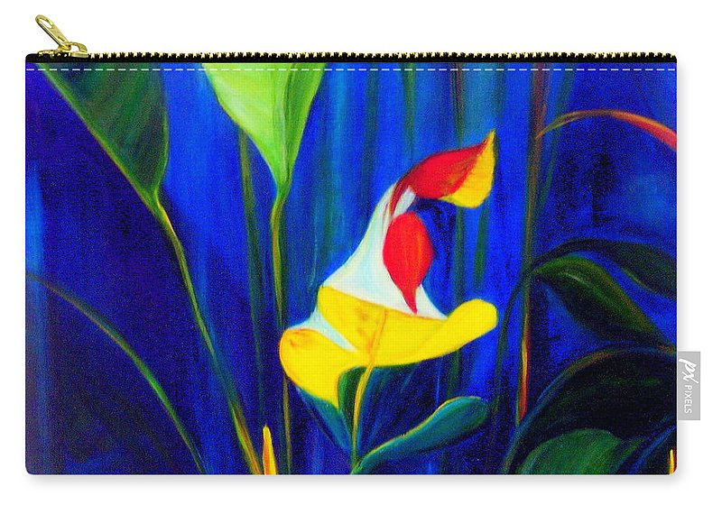 Hawaiian Carry-all Pouch featuring the painting Beginnings by Dina Holland