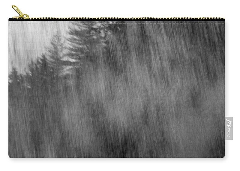 Waterfalls Carry-all Pouch featuring the photograph Behind The Falls by Richard Rizzo