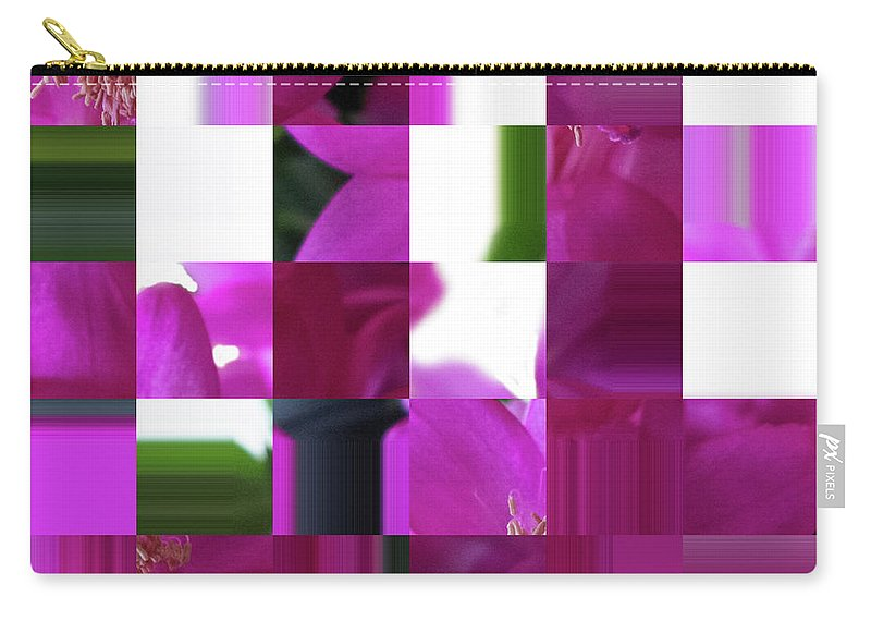 Abstract Carry-all Pouch featuring the digital art Being Square by David Bishop