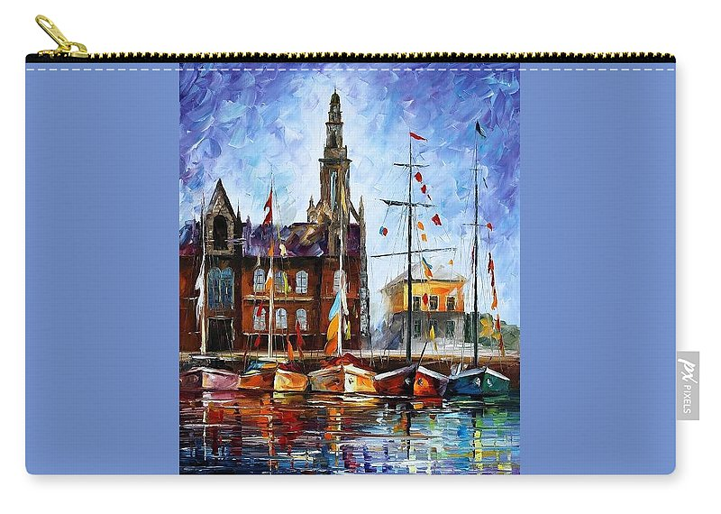 Afremov Carry-all Pouch featuring the painting Belgium by Leonid Afremov