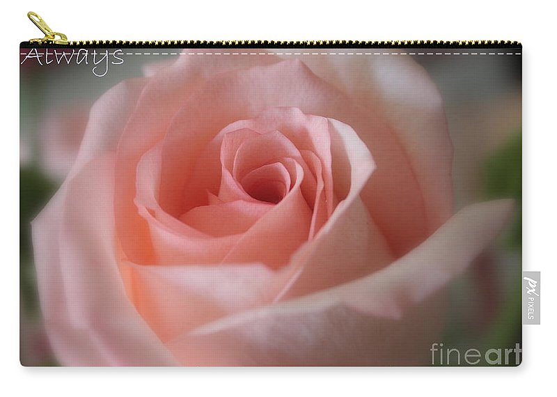 Inner Beauty Carry-all Pouch featuring the photograph Believe In Yourself Card Or Poster by Carol Groenen