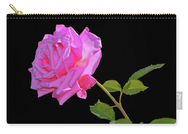 Rose Carry-all Pouch featuring the photograph Belinda's Dream Rose 005 by George Bostian