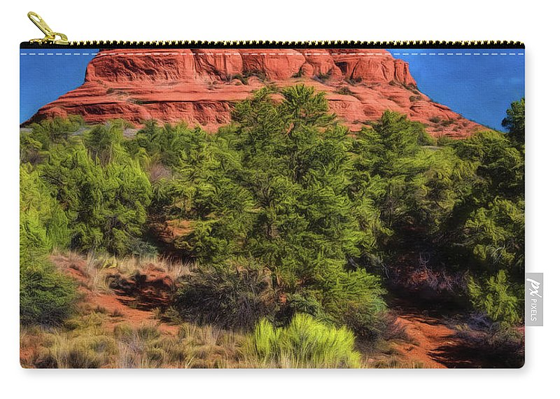 Jon Burch Carry-all Pouch featuring the photograph Bell Rock Dream by Jon Burch Photography
