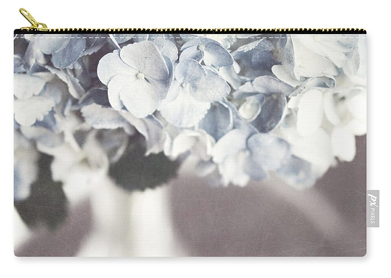 Hydrangea Carry-all Pouch featuring the photograph Bella Donna by Lisa Russo