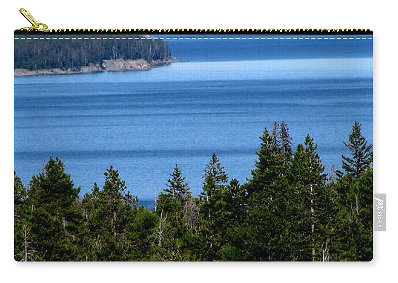Patzer Carry-all Pouch featuring the photograph Bend In Columbia by Greg Patzer