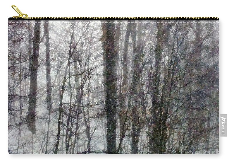 Connecticut Carry-all Pouch featuring the painting Benedict Blows By by RC DeWinter