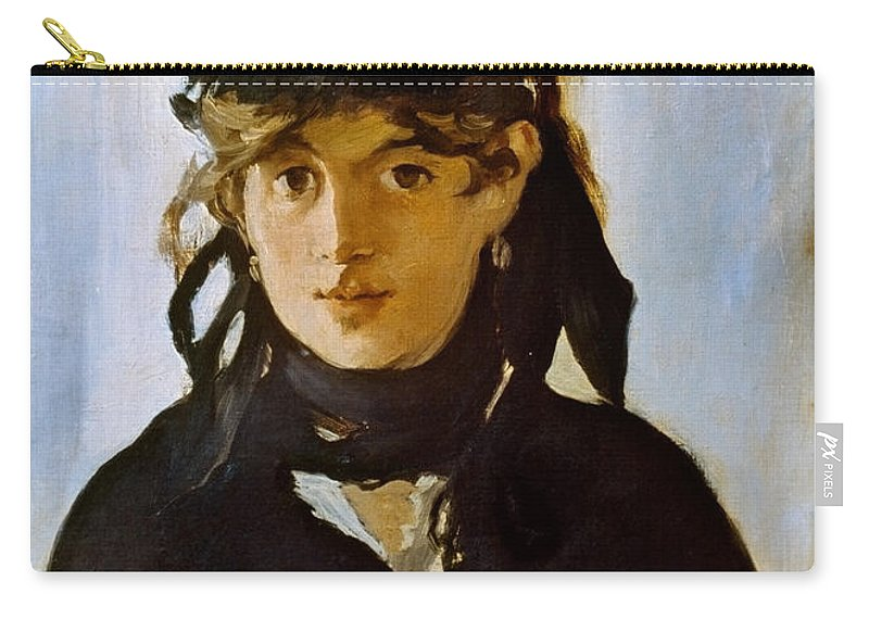 1872 Carry-all Pouch featuring the photograph Berthe Morisot (1841-1895) by Granger