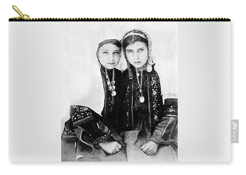 Bethlehem Carry-all Pouch featuring the photograph Best Friends by Munir Alawi
