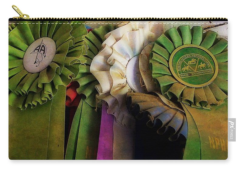 Horse Carry-all Pouch featuring the photograph Best In Show Colors by JAMART Photography