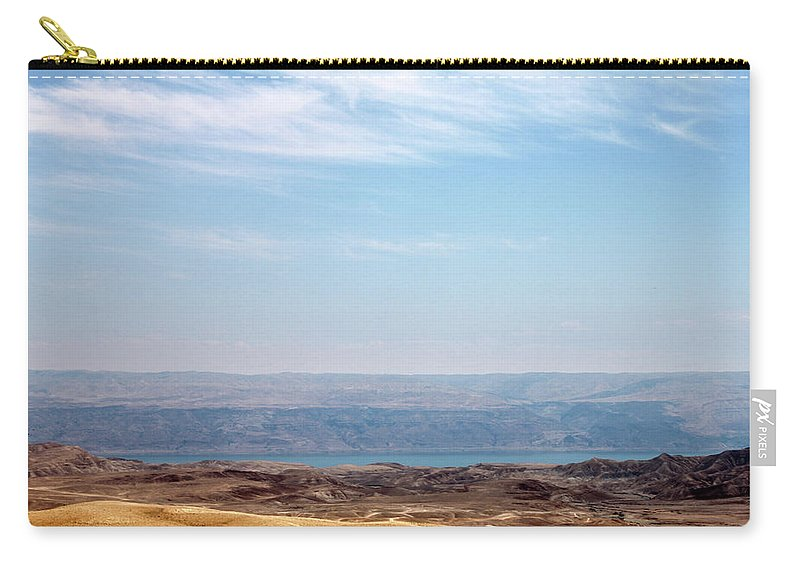 Bethlehem Carry-all Pouch featuring the photograph Bethlehem Desert by Munir Alawi